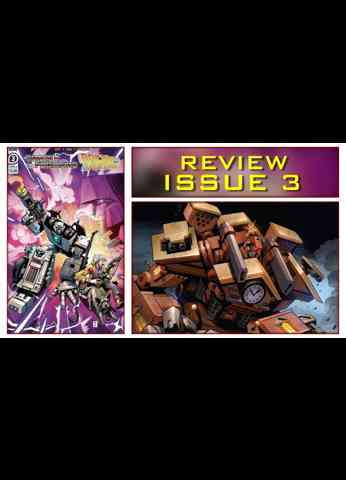 The Transformers Back To The Future Issue 3 Comic Book Review