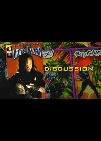 UNDERTAKER Comic Book - Issue 0 - Discussion