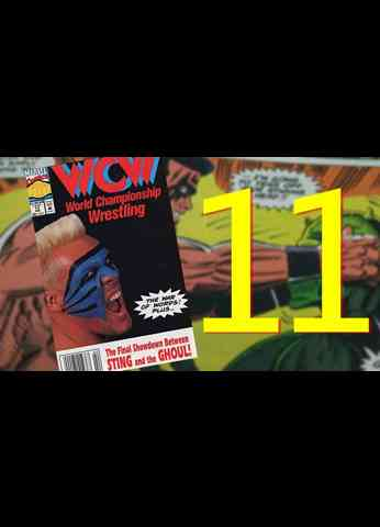 WCW Comic Book - Issue 11 HALLOWEEN HAVOC and we find out who the Ghoul is...Finally