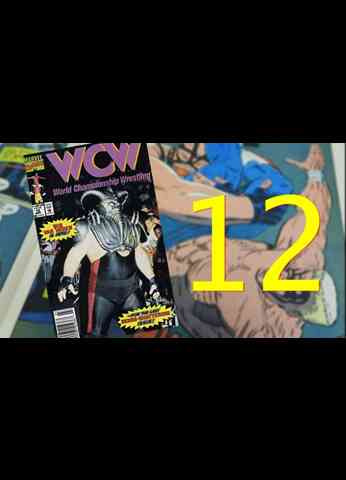 WCW Comic Book - Issue 12 THE FINAL ISSUE