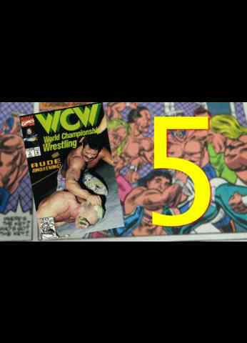 WCW Comic Book Issue 5 - War Games ( 1992 )