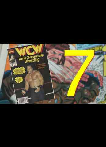 WCW Comic Book Issue 7 - Goin' Uphill Both Ways ( 1992 )