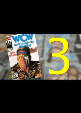 WCW Comic Issue 3 ( 1992 ) The Bruise Cruise