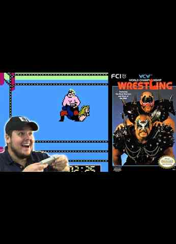 WCW - WORLD CHAMPIONSHIP WRESTLING on the NES 1990