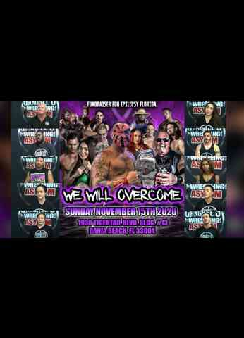 "WE WILL OVERCOME 2020 ""EPILEPSY FUNDRAISER SHOW"" at Gangrel's Wrestling Asylum - Promotional Video"