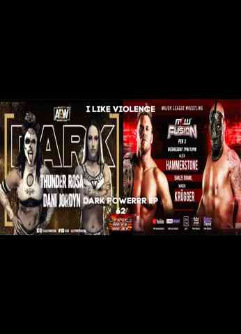 "AEW Dark (2/2/21) & MLW Fusion (2/3/21) Review - Dark Powerrr Ep 62 ""I Like Violence"""