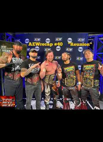 "AEW Dynamite New Year's Smash Night 1 (1/6/21) Review - AEWrecap #40 ""Reunion"""