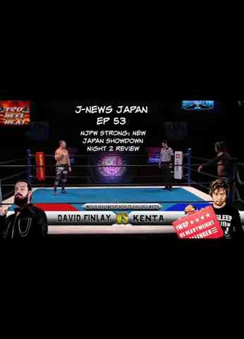 NJPW Strong: New Japan Showdown Night 2 Review (11/20/20) - J-News Japan Ep 53 #njpwstrong