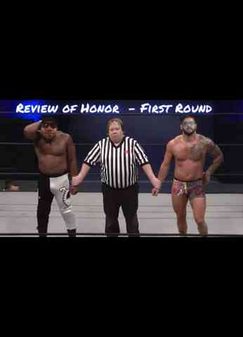 Review of Honor #1 - ROH Pure Title Tournament Round 1 Review
