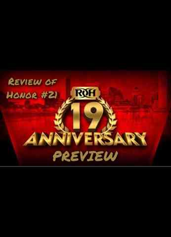 Review of Honor #21 - ROH TV Review (3/19/21)