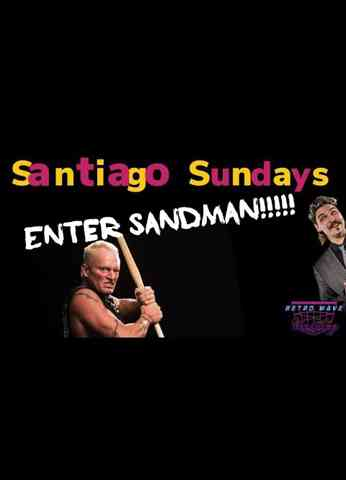 Turnbuckle TV Classics 'Santiago Sundays' - Episode 13 Steve Corino vs Sandman in the UK