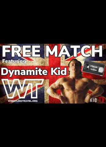 FREE MATCH FRIDAY: Dynamite Kid vs Danny Collins