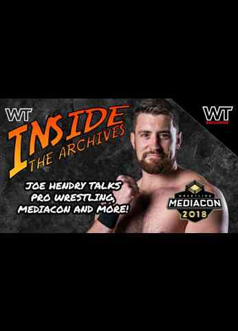Wrestling Travel presents Inside The Archives: Joe Hendry at Wrestling Media Con