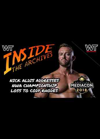 Wrestling Travel presents Inside The Archives: Nick Aldis first interview after ALL IN PPV