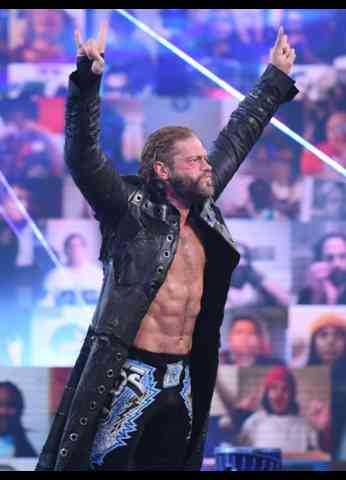 Edge WrestleMania 37 Press Conference Interview